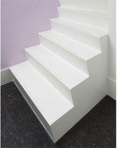 SecuCare Antislip sticker - langwerpig 19 x 60 mm  wit  binnen & buiten (trap  15 treden) - 8040.150.02