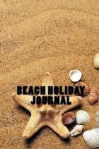 Beach Holiday Journal