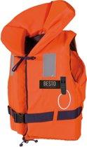 Besto Reddingsvest - Maat XL  - oranje/navy Maat XL: gewicht 70++ kg / Drijfvermogen 100N