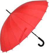 Paraplu ø 93*90 cm Rood   MLUM0029R   Clayre & Eef