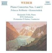Weber: Piano Concertos nos 1 & 2, etc / Frith, O'Duinn
