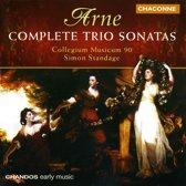 Arne: Complete Trio Sonatas / Simon Standage, Collegium Musicum 90