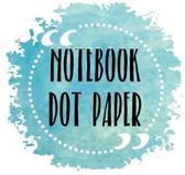 Notebook Dot Paper