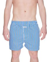 Navy Stripes Boxershort - Blauw