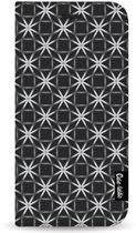 Casetastic Wallet Case Black Samsung Galaxy S10 - Geometric Lines Silver