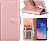 Xssive Hoesje voor Samsung Galaxy J8 2018 - Book Case - Rose Goud