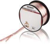 König - Luidspreker Kabel - Transparant - 100 meter - 2 x 0,4 mm²