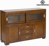 Dressoir forest 3 lades - Chocolate Collectie by Craften Wood