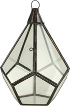 Glazen Lampenkap Antiek Small