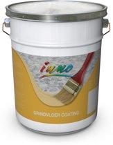 Grind vloercoating - Vloerverf / coating voor grindtegels en grindvloeren (steentapijt, marmertapijt) - Antraciet - 10 Kilo