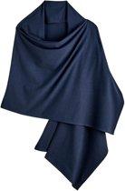Coolibar - UV-sjaal voor dames - navy