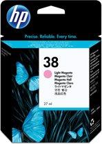 HP 38 originele licht-magenta pigmentinktcartridge