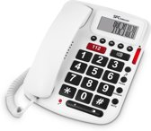 SPC 3293B Nummerherkenning Wit telefoon