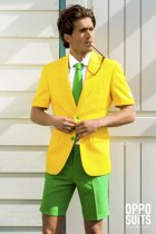 OppoSuits SUMMER Green and Gold - Kostuum - Maat 62