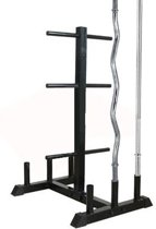 Bar Holder Focus Fitness - 30mm - Combi Plate Tree