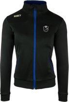 Robey Women Striker Trainingsjack - Voetbaljas - Black/Royal Blue - Maat L