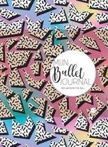 Mijn Bullet Journal - 90s Saved by the Bell + 4 stuks Gel Inkt Pennen Zebra Sarasa verpakt in een Zipperbag