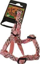 Halsband Nylon/Pvc Bh-Tuig Called Roze 8 Mmx20-25 Cm