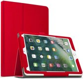 Apple iPad 9.7 (2017 / 2018) hoesje - Leather Protective Case - rood