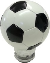 Simoni Racing Pookknop Football - Wit/Zwart