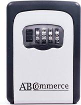 AB(C)ommerce Sleutelkluis – voor Buiten – Met Code – Voor 5 sleutels – Incl Montage set