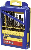 Irwin HSS Cobalt borenset 19-delig 1.0-10.0 mm 10502569