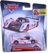 Disney Cars auto Shu Todoroki carbon fiber racer - Mattel
