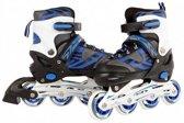 Skates Blauw 35-38 - Skates Jongens Verstelbaar