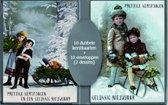 50 stuks Kerstkaarten - Nieuwjaarskaarten - Nostalgische - Vintage met envelop | 5 pakjes | serie 18-4
