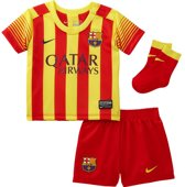 jongens Kledingset Nike FC Barcelona Uit Minikit Baby-9/12 M 887224744169