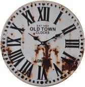 Wall Clock 40 cm Retro