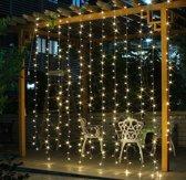 Kerstverlichting LED Gordijn - 3x3 meter