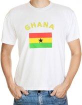 Ghana t-shirt met vlag M
