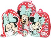 Minnie Mouse Dotty Day Out reistassen set