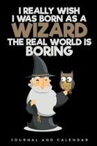 I Really Wish I Was Born as a Wizard the Real World Is Boring