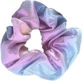 Haarwokkel Scrunchie Haarelastiek Regenboog Rainbow Unicorn