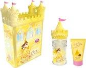 Disney Belle Castle set met eau de toilette 50ml en badgel 75ml