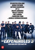 DVD cover van The Expendables 3