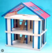 Poppenhuis hout Charl's Design Toys