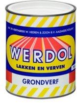 Werdol Grondverf 0.75L WIT