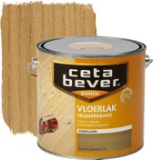 Cetabever Vloerlak Transparant Acryl - Antiek Grenen 0116 - 0,75 L - 2 Stuks