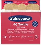 Salvequick pleisters huidskleur Ref. 6444 - 6 pack