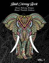 Adult Coloring Book Vol.1