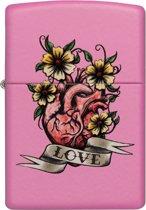 Aansteker Zippo Love Heart Flower