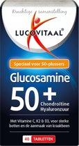 Lucovitaal - Glucosamine 50+ - 40 Tabletten - Voedingssupplement