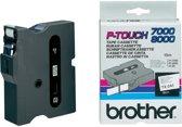 Brother TX-241 Zwart op wit TX labelprinter-tape