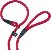 Nobby fun retriever lijn lijn en halsband in 1 rood 0,9 x 170 cm - 1 st