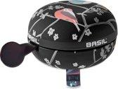 Basil Wanderlust Big Bell Fietsbel - Charcoal Zwart