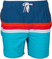 Color Kids Eark Beach Shorts Zwembroek - Maat 128  - Unisex - blauw/rood/wit