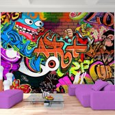 Foto Vliesbehang Muurposter Graffiti E 308x220 cm